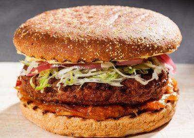 Fiskeburger m/ tomatchutney og dild