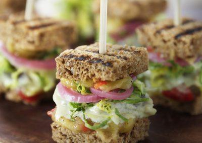 Sandwich med Senneps Sild